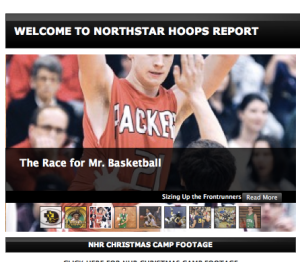 NHR front page