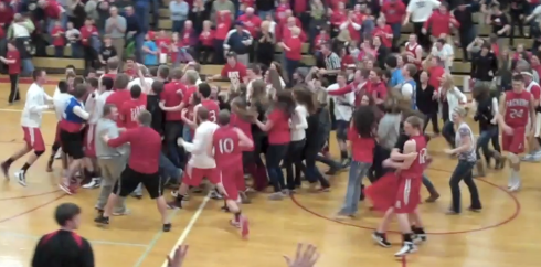 Court storming