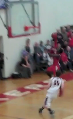 Ajuda Nywesh goes up for the game-winning lay-up